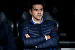 Coach Miguel Angel Sanchez Munoz Rayo Vallecano during La Liga match between Real Madrid and Rayo Vallecano at Santiago Bernabeu Stadium in Madrid, Spain. December 15, 2018. (ALTERPHOTOS/Borja B.Hojas)