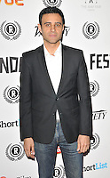 """Rez Kempton attends the """"My Hero"""" Raindance Film Festival UK film premiere, Vue Piccadilly cinema, Lower Regent Street, London, England, UK, on Friday 25 September 2015. <br /> CAP/CAN<br /> ©Can Nguyen/Capital Pictures"""