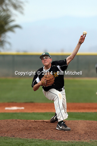 Jared Koenig - 2014 Central Arizona College Vaqueros (Bill Mitchell)