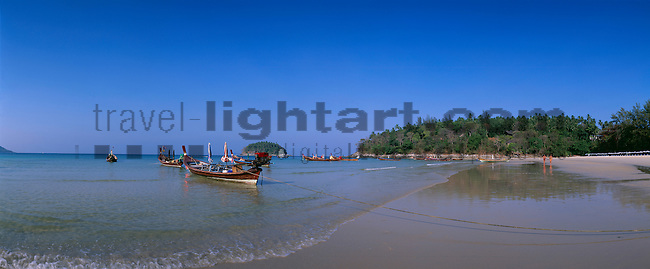 www.travel-lightart.com, ©Paul J. Trummer, Asia, Countries, Country, Geography, Thailand, Asien, Geografie, Länder, Siam, Staat, Staaten, Kata Beach, Phuket Island, Fishing-boats, Andaman Sea, bodies of water, body of water, Indean Ozean, landscape, landscape form, landscape forms, landscapes, ocean, oceans, ozeans, seas, Andamanensee, Gewässer, Indian ozean, Indischer Ozean, Landschaft, Landschaftsform, Landschaftsformen, Meer, Meere, Ozeane, Küste, Küsten, Küstenlandschaft, Meeresstrand, Sandstrand, Sandstrände, Straende, beaches, coast, coastal landcsapes, coastline, coastlines, coasts, sand, sandy beach, sandy beaches, islands, insel, Inseln, boat, fisher boat, fisher boats, fishing boat, fishing boats, maritime, objects, ship, shipping, ships, things, traffic, transportation, transportations, vehicle, vehicles, Boot, Boote, Dinge, Fahrzeug, Fahrzeuge, Fischerboot, Fischerboote, Fischkutter, Gegenstand, Gegenstände, KFZ, Maritim, Sachen, Schiff, Schiffahrt, Schiffe, Transport, Transportformen, Transportmittel, Trawler, Verkehr, Verkehrsformen, Verkehrsmittel, Wasserfahrzeuge