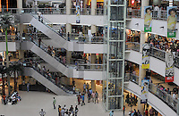 A big modern shopping mall in Madras, India