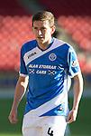 St Johnstone FC… Season 2016-17<br />Blair Alston<br />Picture by Graeme Hart.<br />Copyright Perthshire Picture Agency<br />Tel: 01738 623350  Mobile: 07990 594431
