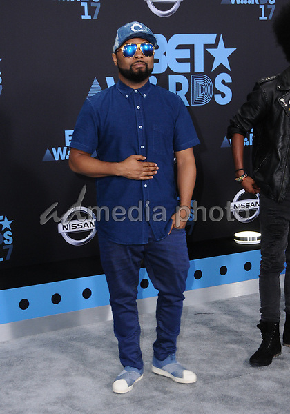 25 June 2017 - Los Angeles, California - Music Soulchild. 2017 BET Awards held at the Microsoft Square in Los Angeles. Photo Credit: Birdie Thompson/AdMedia