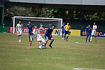 Erchim vs Rimyongsu during the 2014 AFC President's Cup Final Stage Group B match on September 22, 2014 at the Sugathadasa Stadium in Colombo, Sri Lanka. Photo by World Sport Group