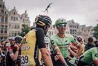 Sep Vanmarcke (BEL/Cannondale-Drapac) relaxed before the start<br /> <br /> 2017 National Championships Belgium - Elite Men - Road Race (NC)<br /> 1 Day Race: Antwerpen > Antwerpen (233km)