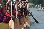 FEATURES- 24th annual dragon boat festival in Flushing  Meadows New York