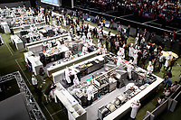 Lyon, 30 January 2019 – A general view of the competition stage of the 2019 Finale of the Bocuse d'Or held at the Sirha trade show at Eurexpo in Lyon, France. Photo Bocuse d'Or/Pool