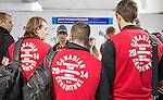Sochi 2014. <br /> Team Canada arrives at the airport in Sochi for the Sochi 2014 Paralympic Winter // Équipe Canada arrive à l'aéroport de Sotchi pour Sochi 2014 Jeux paralympiques d'hiver. 28/02/2014.