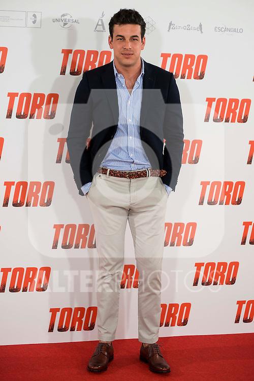 "Mario Casas attends to the presentation of the spanish film ""Toro"" at Hotel Hesperia in Madrid, April 19,2016. (ALTERPHOTOS/Borja B.Hojas)"