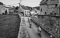 riders taking an alternative street up La Redoute<br /> <br /> Ster ZLM Tour (2.1)<br /> Stage 4: Hotel Verviers > La Gileppe (Jalhay)(190km)