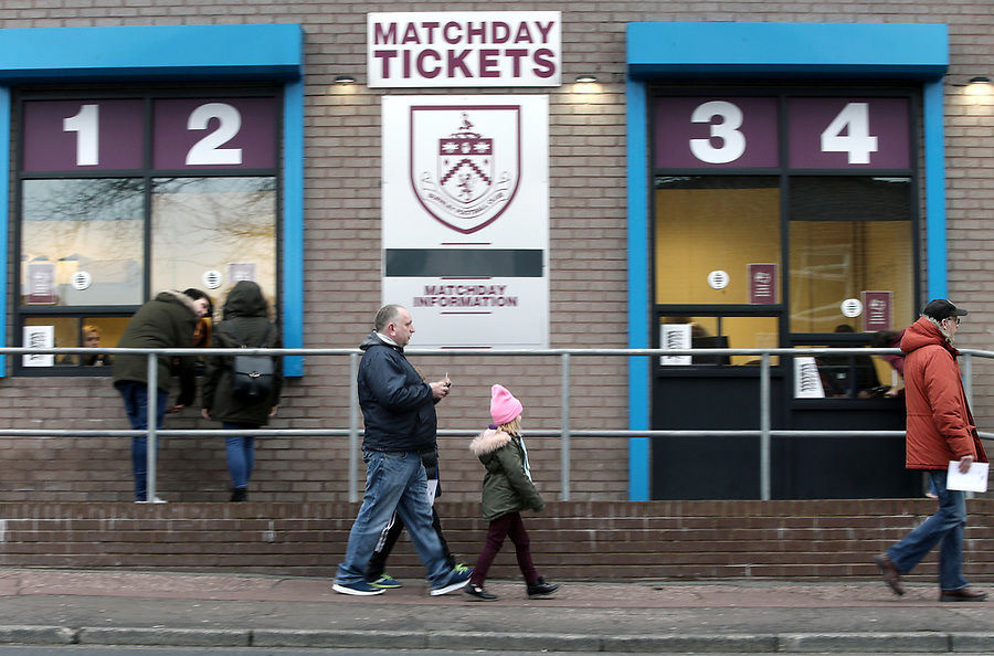 Burnley fans arrive at Turf Moor ahead of kick-off<br /> <br /> Photographer Rich Linley/CameraSport<br /> <br /> Emirates FA Cup Third Round - Burnley v Barnsley - Saturday 5th January 2019 - Turf Moor - Burnley<br />  <br /> World Copyright © 2019 CameraSport. All rights reserved. 43 Linden Ave. Countesthorpe. Leicester. England. LE8 5PG - Tel: +44 (0) 116 277 4147 - admin@camerasport.com - www.camerasport.com