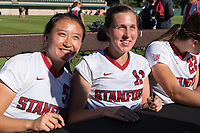 Stanford, CA - October 22, 2017: Stanford defeats the Oregon State Beavers 6-0 in a Women's soccer game at Laird Q. Cagan Stadium.