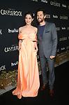 LOS ANGELES, CA - OCTOBER 14: Lizzy Caplan, Tom Riley, at Hulu's Castle Rock Season 2 Premiere at AMC Sunset 5 in Los Angeles, California on October 14, 2019. Credit: Faye Sadou/MediaPunch