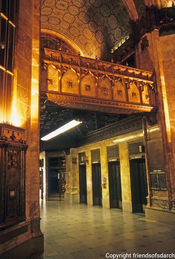 New York: Woolworth Building, Lobby. Photo '85.