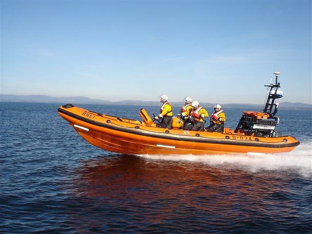 Bundoran RNLI inshore lifeboat