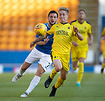 St Johnstone v Falkirk…24.07.18…  McDiarmid Park    Betfred Cup<br />Tom Robson and Drey Wright<br />Picture by Graeme Hart. <br />Copyright Perthshire Picture Agency<br />Tel: 01738 623350  Mobile: 07990 594431