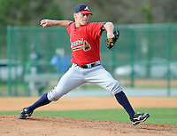 17 March 2009: Brett Butts of the Atlanta Braves at Spring Training camp at Disney's Wide World of Sports in Lake Buena Vista, Fla. Photo by:  Tom Priddy/Four Seam Images