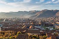 Cusco at sunrise, Peru