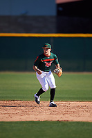 Dorian Gonzalez Jr. during the Under Armour All-America Tournament powered by Baseball Factory on January 18, 2020 at Sloan Park in Mesa, Arizona.  (Zachary Lucy/Four Seam Images)
