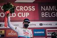 CX world champion Mathieu Van der Poel (NED/Alpecin-Fenix)<br /> <br /> Men's Race<br /> UCI Cyclocross World Cup Namur 2020 (BEL)<br /> <br /> ©kramon