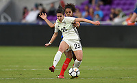 Orlando City, FL - Wednesday March 07, 2018: Hasret Kayikci during a 2018 SheBelieves Cup match between the women's national teams of Germany (GER) and France (FRA) at Orlando City Stadium.