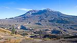 Landscape of Mount St. Helens Volcano, Washington State