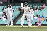 8th January 2021; Sydney Cricket Ground, Sydney, New South Wales, Australia; International Test Cricket, Third Test Day Two, Australia versus India; Steve Smith of Australia