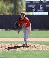 Reid Detmers - Los Angeles Angels 2021 spring training (Bill Mitchell)