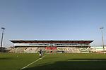 08.11.2020, Dietmar-Scholze-Stadion an der Lohmuehle, Luebeck, GER, 3. Liga, VfB Luebeck vs KFC Uerdingen 05 <br /> <br /> im Bild / picture shows <br /> Geisterspiel auf der Lohmuehle, bedingt durch Corona sind keine Zuschauer zugelassen<br /> <br /> DFB REGULATIONS PROHIBIT ANY USE OF PHOTOGRAPHS AS IMAGE SEQUENCES AND/OR QUASI-VIDEO.<br /> <br /> Foto © nordphoto / Tauchnitz