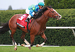 Get Stormy with javier Castellano up wins the Maker's Mark Mile at Keeneland Racecourse.