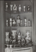 BNPS.co.uk (01202 558833)<br /> Pic: NoordHollandsArchief/Sotheby's/BNPS<br /> <br /> Pictured: Archival pictures of Mannheimer Collection in situ<br /> <br /> A £2m collection of Meissen porcelain that was seized by the Nazis before it was discovered by the Allied 'Monuments Men' at the end of the war is coming up for sale.<br /> <br /> The stunning hoard of Dresden antiques was acquired by industrialist Dr Franz Oppenheimer and his wife Margarethe during the 1920s and 30s'.<br /> <br /> The Jewish couple fled their home in Berlin as the Nazis began persecuting Jewish people in Germany.<br /> <br /> They emigrated to the US but not before they sold off their fabulous figurines and ornaments for bargain prices to stop them falling into the hands of the Nazi