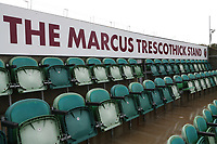 General view of the Marcus Trescothick Stand ahead of Somerset CCC vs Essex CCC, Specsavers County Championship Division 1 Cricket at The Cooper Associates County Ground on 25th September 2019
