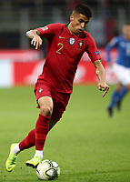 Football: Uefa Nations League Group 3match Italy vs Portugal at Giuseppe Meazza (San Siro) stadium in Milan, on November 17, 2018.<br /> Portugal's Joao Cancelo in action during the Uefa Nations League match between Italy and Portugal at Giuseppe Meazza (San Siro) stadium in Milan, on November 17, 2018.<br /> UPDATE IMAGES PRESS/Isabella Bonotto