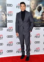 "LOS ANGELES, USA. November 20, 2019: Rich Ting at the gala screening for ""The Aeronauts"" as part of the AFI Fest 2019 at the TCL Chinese Theatre.<br /> Picture: Paul Smith/Featureflash"
