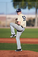 Carmen Severino (52), from Spokane, Washington, while playing for the Brewers during the Under Armour Baseball Factory Recruiting Classic at Red Mountain Baseball Complex on December 29, 2017 in Mesa, Arizona. (Zachary Lucy/Four Seam Images)