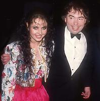 Sarah Brightman Andrew Lloyd Webber 1985<br /> Photo By John Barrett/PHOTOlink