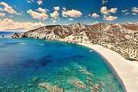 Agios Minas is the most exotic beach of Karpathos, Greece