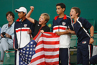 Tenis, World Championship U-14.Medal ceremony.Finals, boys and girls.from left, Jordan Belga, Noah Rubin and Stefan Kozlov.Prostejov, 07.08.2010..foto: Srdjan Stevanovic/Starsportphoto ©