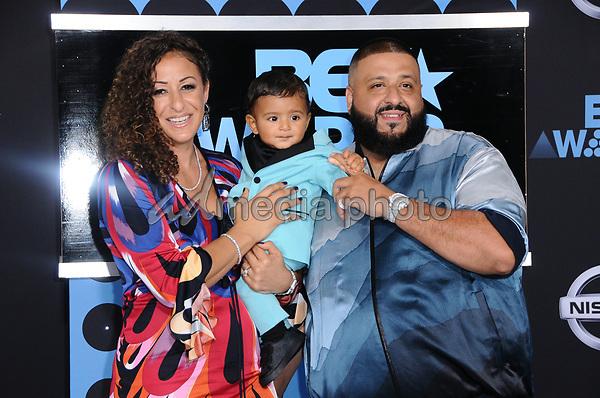 25 June 2017 - Los Angeles, California - DJ Khaled. 2017 BET Awards held at the Microsoft Square in Los Angeles. Photo Credit: Birdie Thompson/AdMedia