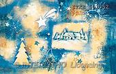 Isabella, CHRISTMAS SYMBOLS, corporate, paintings, village, blue(ITKE501352,#XX#) Symbole, Weihnachten, Geschäft, símbolos, Navidad, corporativos, illustrations, pinturas