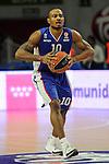 Anadolu Efes´s Dontaye Draper during 2014-15 Euroleague Basketball Playoffs match between Real Madrid and Anadolu Efes at Palacio de los Deportes stadium in Madrid, Spain. April 15, 2015. (ALTERPHOTOS/Luis Fernandez)