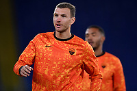 Edin Dzeko of AS Roma warms up prior to the Europa League Group Stage A football match between AS Roma and CSKA Sofia at stadio olimpico in Roma (Italy), October, 29th, 2020. Photo Andrea Staccioli / Insidefoto