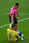 {persons} {featuredorgname}  La Liga match round 10 between Cadiz CF and Real Sociedad at Ramon of Carranza Stadium in Cadiz, Spain, as the season resumed following a three-month absence due to the novel coronavirus COVID-19 pandemic. Nov 22, 2020. (ALTERPHOTOS/Manu R.B.)