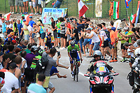 12th September 2021: Trento, Trentino–Alto Adige, Italy: UEC Road European Mens Elite Cycling Championships; Tadej POGACAR (SLO)