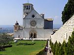 ITA, Italien, Umbrien, Assisi: Basilika San Francesco | ITA, Italy, Umbria, Assisi: Basilica San Francesco