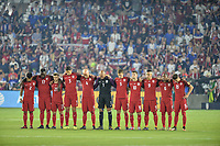 Orlando, FL - Friday Oct. 06, 2017: USMNT starting eleven vs Panama during a 2018 FIFA World Cup Qualifier between the men's national teams of the United States (USA) and Panama (PAN) at Orlando City Stadium.