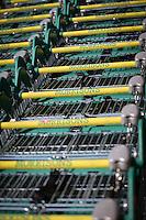Morrisons Supermarket - shopping trollies
