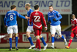 St Johnstone v Aberdeen...13.12.11   SPL .Marcus Haber gets a late consolation goal.Picture by Graeme Hart..Copyright Perthshire Picture Agency.Tel: 01738 623350  Mobile: 07990 594431