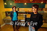 Sisters Monica Walsh (Lixnaw) front right, and Selina O Connor (Killorglin) in their Leaf and Larder Bakery and Delicatessen Killorglin and will open its doors to the public in early December.