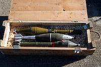 - Eurocorps, European multinational army corps, antitank rokets and mortar grenades....- Eurocorps, corpo militare multinazionale europeo,..razzi anticarro e granate da mortaio..